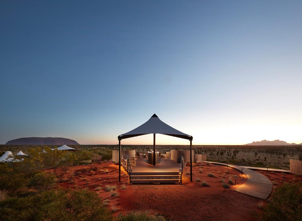 Longitude 131° luxury camp offers an essential experience of Australia's spiritual heartland