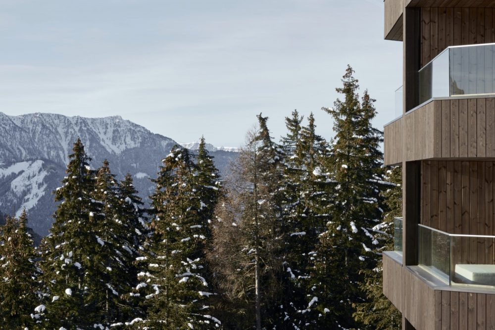 Rejunivate with the panoramic view of a UNESCO World Heritage Site at Forestis Dolomites