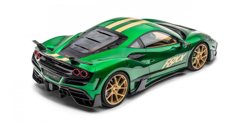 Mansory F8XX—a complete vehicle conversion based on the Ferrari F8 Tributo