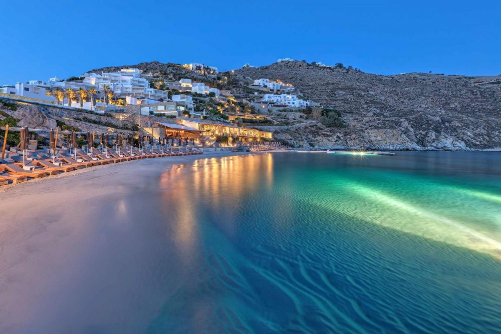 Santa Marina Mykonos at Ornos Bay brings a constant sense of freedom