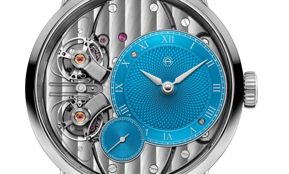 Armin Strom Pure Resonance Sky Blue reflects its pure Swiss German style