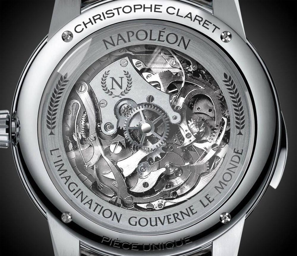 The exquisite Christophe Claret Napoleon Westminster Minute Repeater Flying Tourbillon