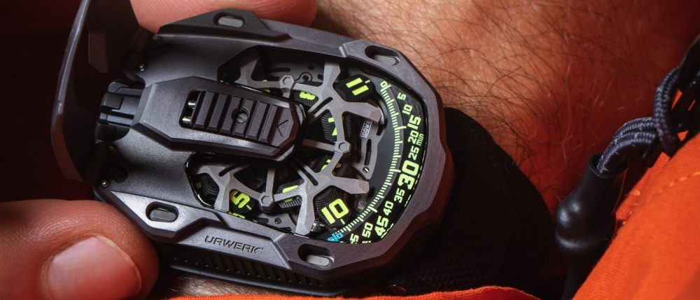Urwerk presents the Last Edition In Tantalum for the 105 Collection