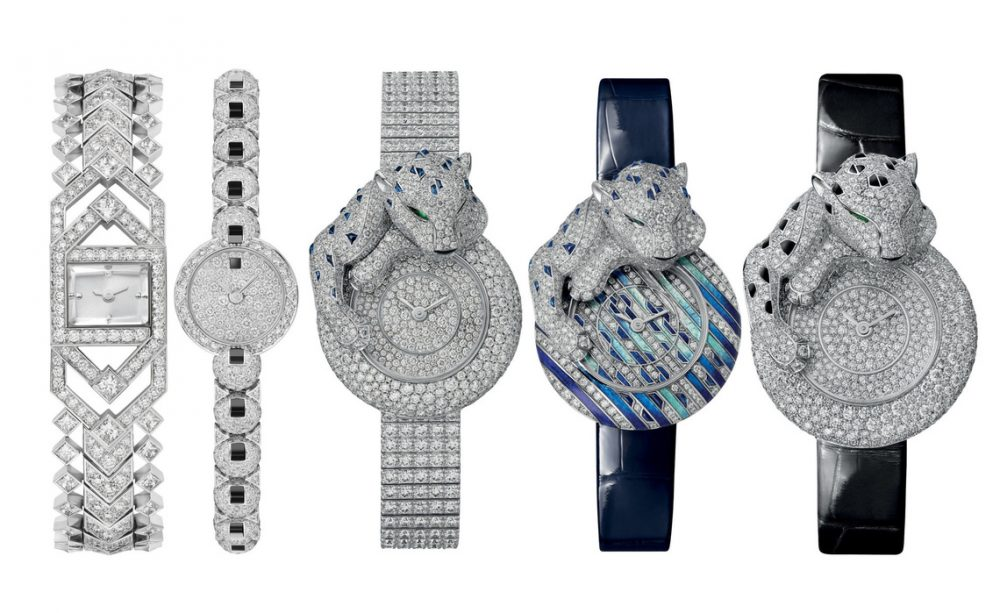 The 2021 Precious Watches Collection by Cartier