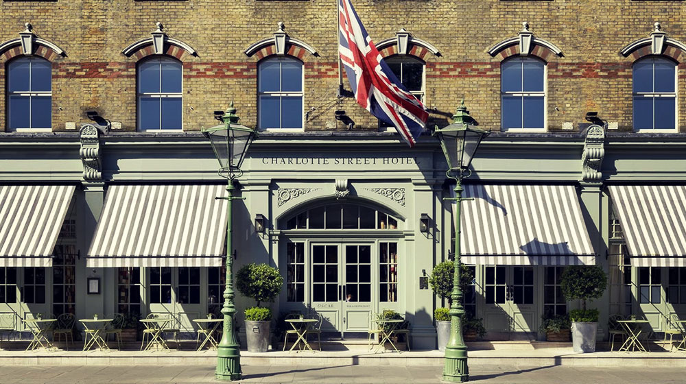 London Guide | Charlotte Street Hotel, Soho
